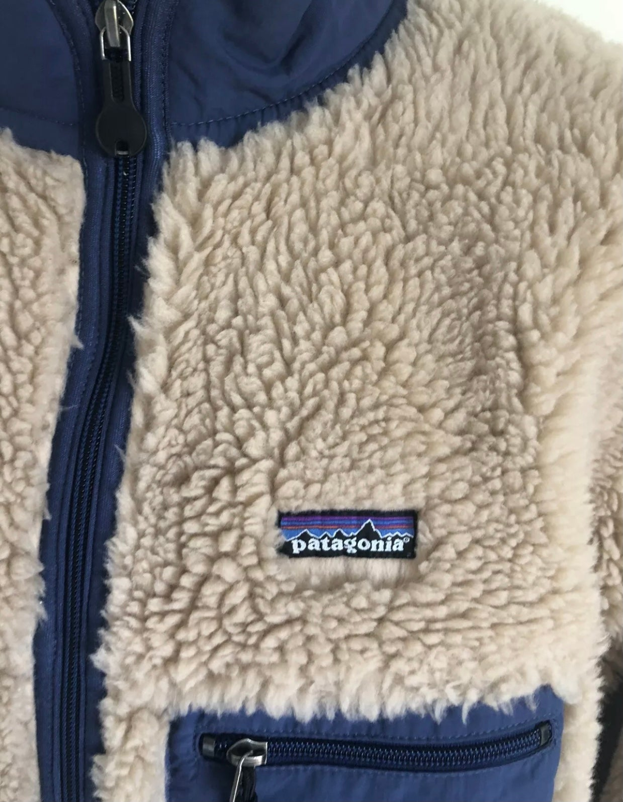 Image of Patagonia Retro X Fall 04 Deep Pile Jacket Deadstock XXL