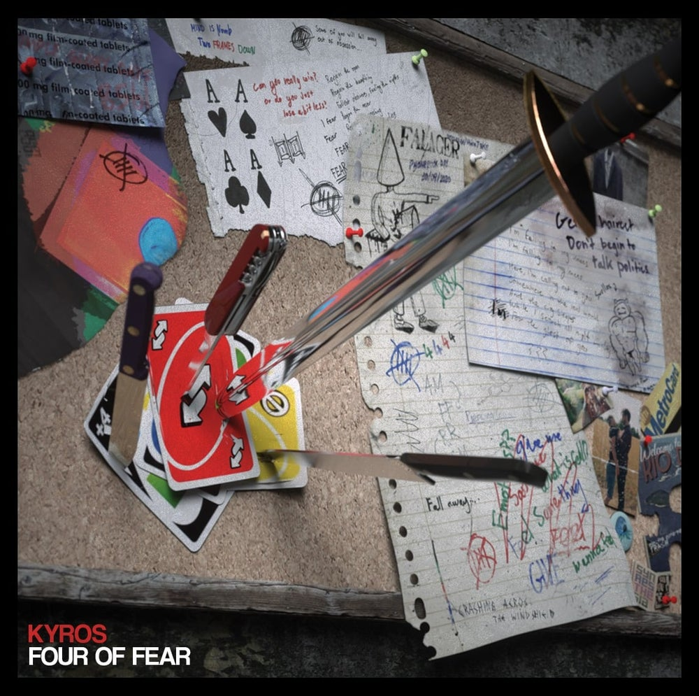 Image of Four of Fear EP (CD)