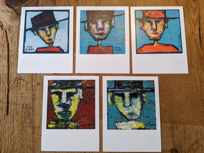 Image of Otis Artprint Postcards