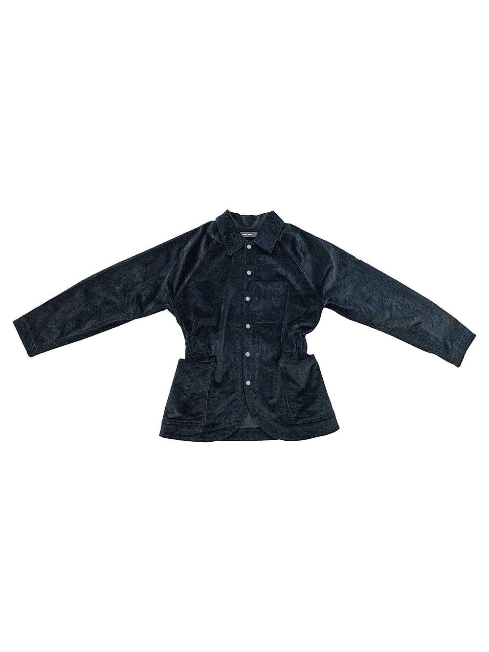 Image of Maja Brix & Aarstiderne - Jacket - Black Corduroy