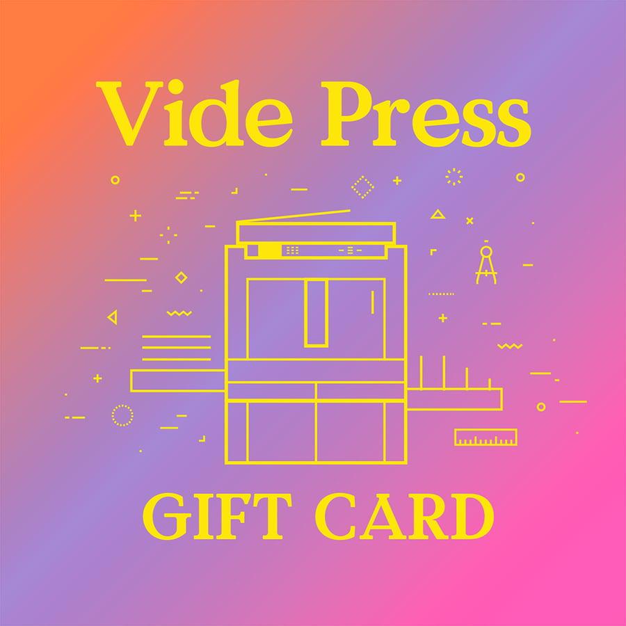 Image of Printing Gift Card