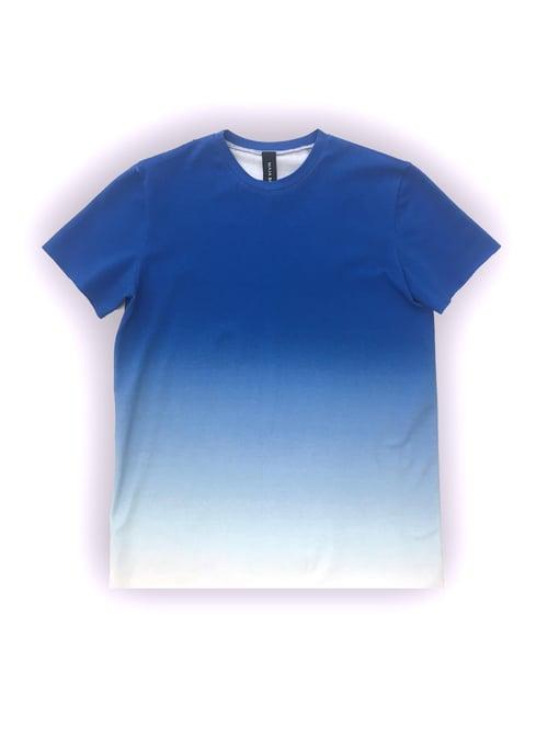 Image of T-shirt 1 - Organic Jersey - Blue Gradient