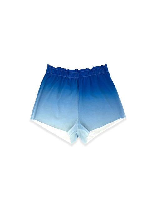 Image of OF 1 Shorts - Organic Jersey - Blue Gradient