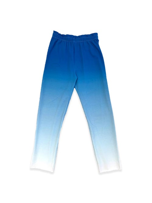 Image of OF1 Trousers - Organic Jersey - Blue Gradient