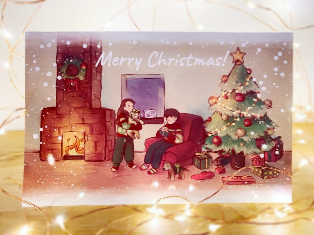Image of Jack & Becky's Charity Christmas Card  🎄