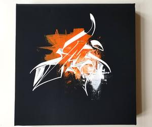 """""""M"""" Canvas orange"""