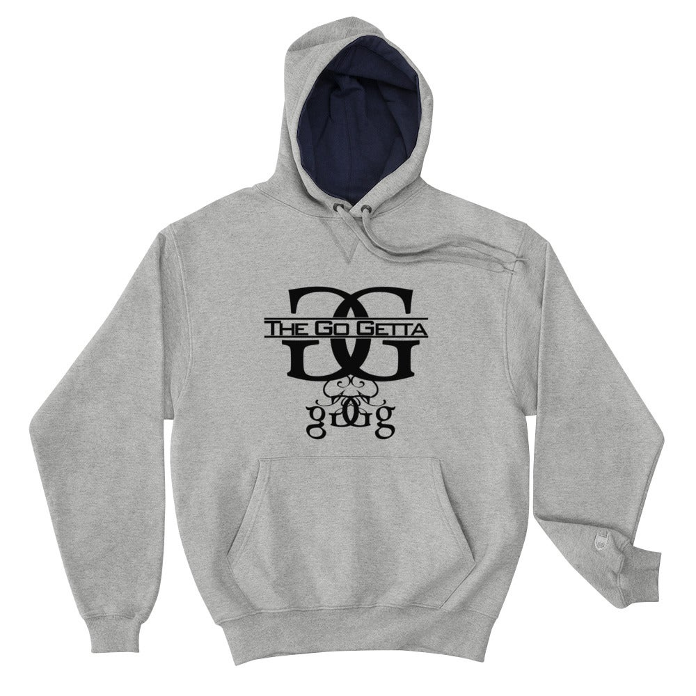 Image of Logo Champion Hoodie (Gray)