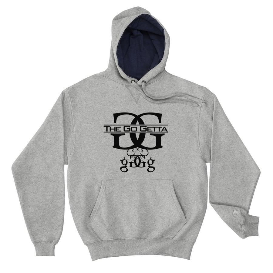 Image of Logo Champion Hoodie (Gray)