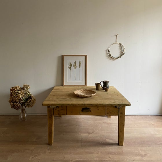 Image of Table basse en bois #114