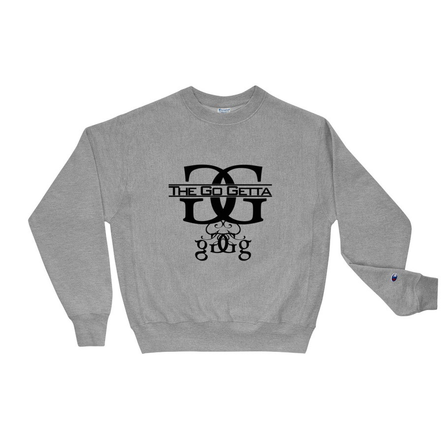 Image of Logo Champion Sweatshirt (Gray)