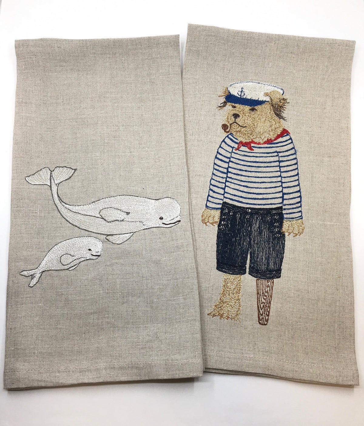 **25% Off** Embroidered Tea Towels by Coral & Tusk