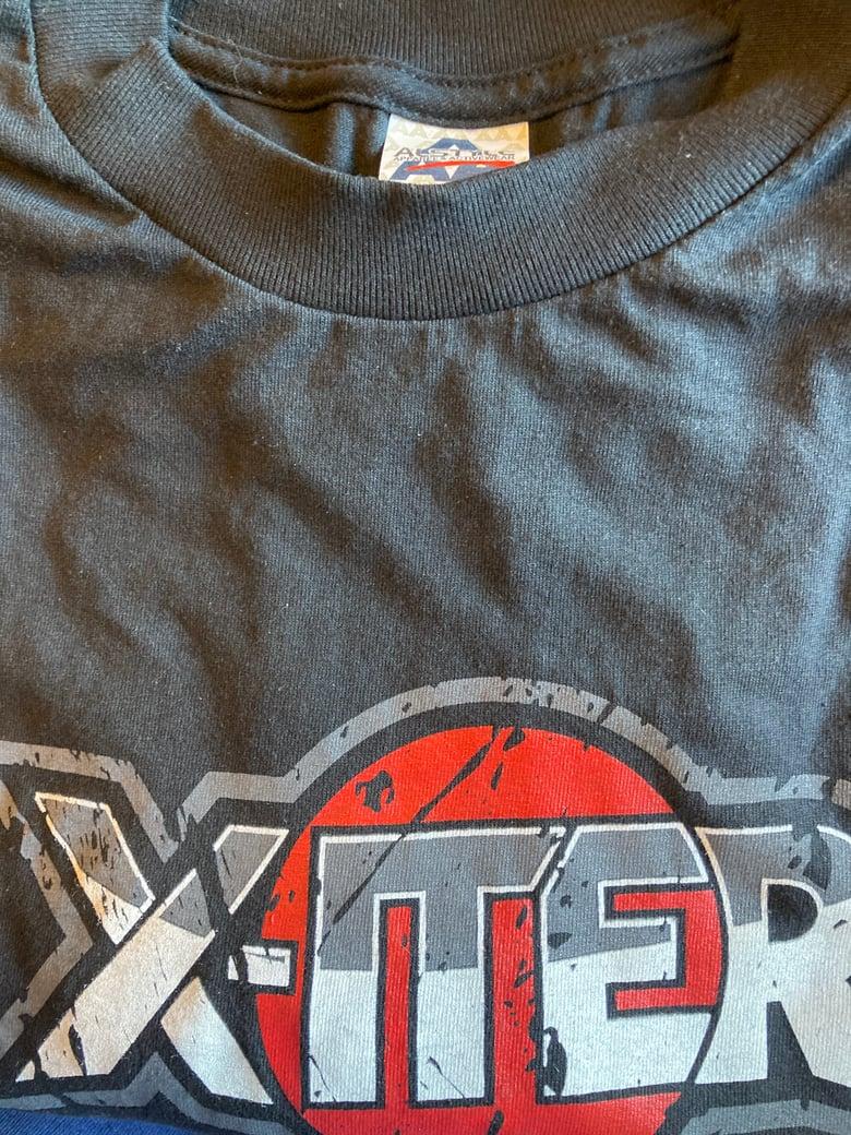 Image of Xiter concert T-shirt Tuff Stevie Rachelle Oshkosh Heavy Metal Crue Ratt Sleaze