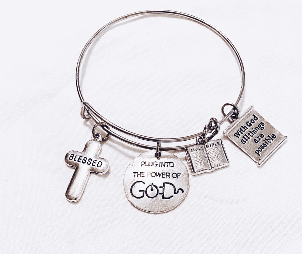 Image of Plug into God Bangle