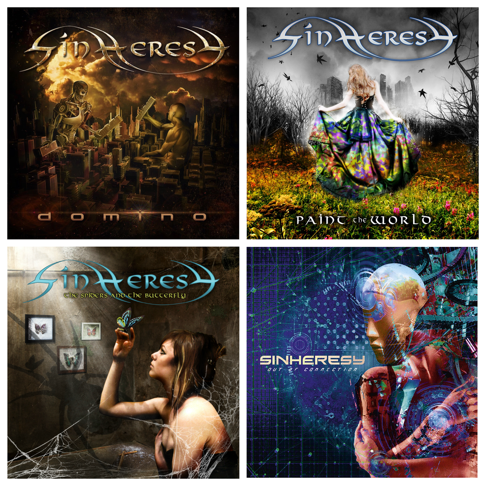Image of SINHERESY DISCOGRAPHY