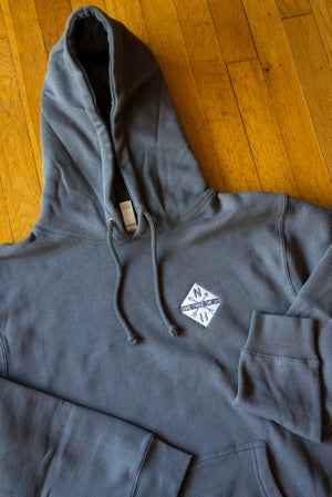 Image of Embroidered Diamond Logo Hoodie - unisex