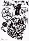 Flashizm #6 original drawing