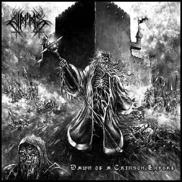 "Image of Halphas  ""Dawn Of A Crimson Empire"" CD"