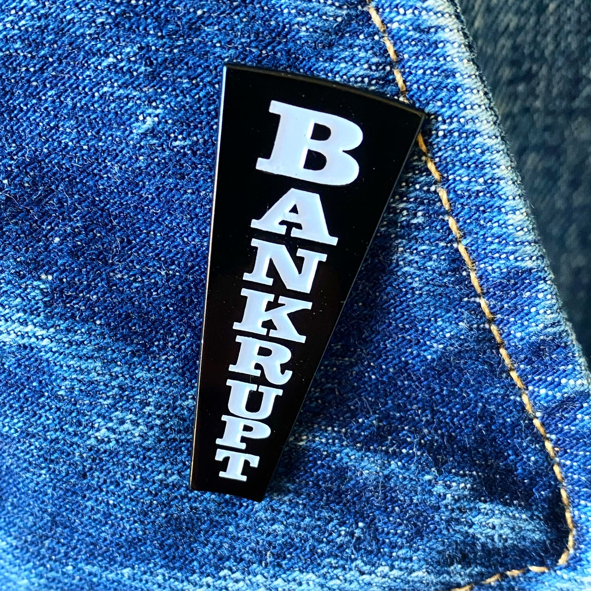 Image of Wheel of Fortune tribute - Bankrupt pin
