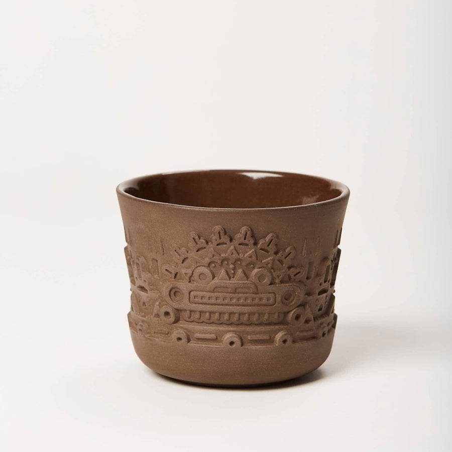 Image of manoa flower pot S