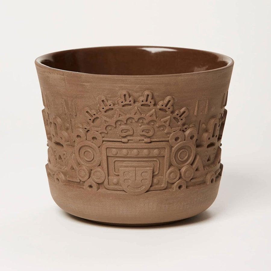 Image of manoa flower pot L