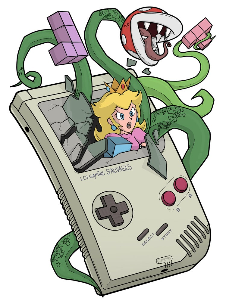 Image of GAME PEACH