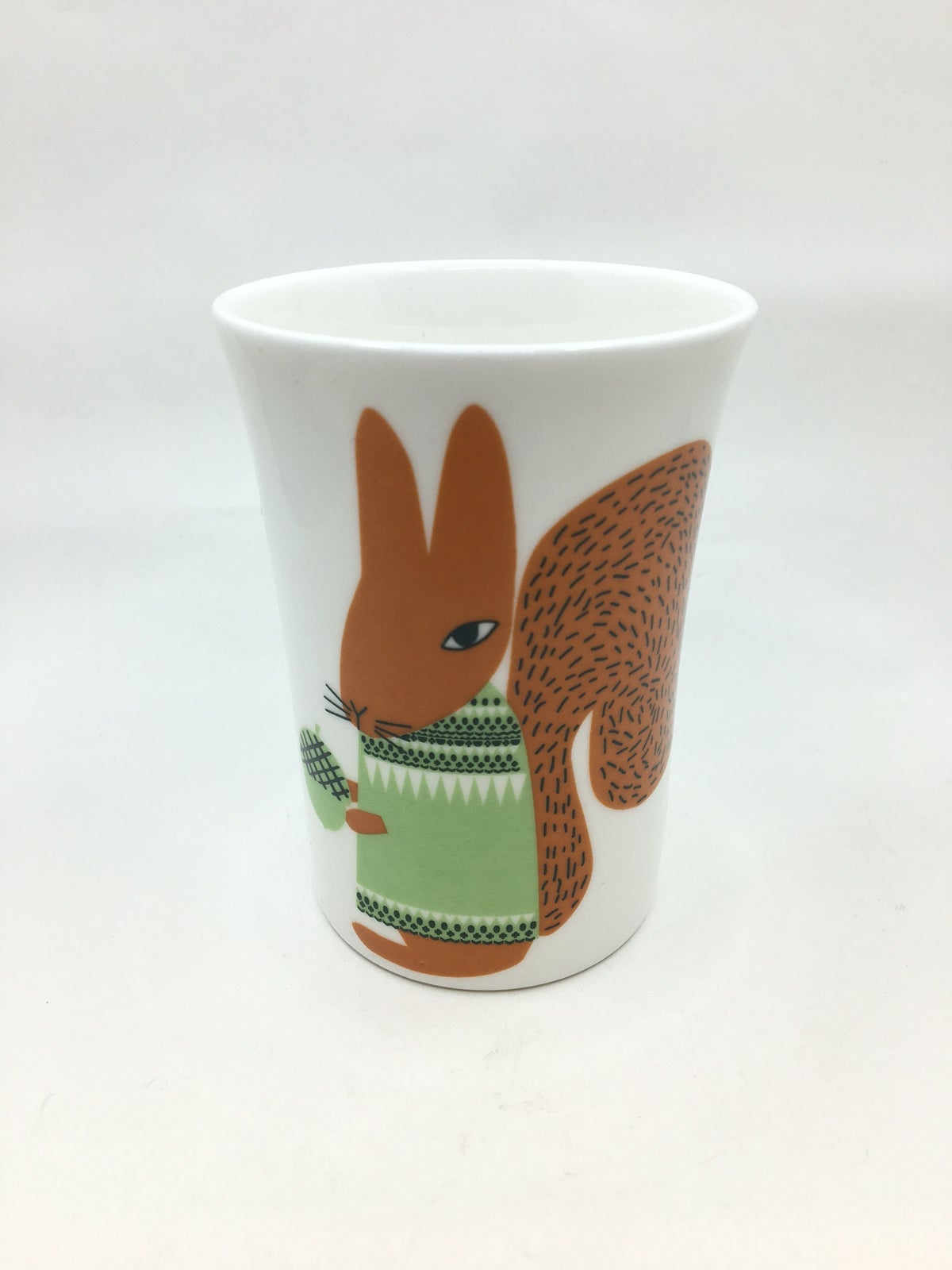 Porcelain Animal Cups by Donna Wilson