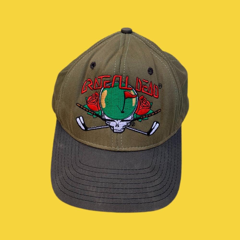 Image of Grateful Dead Original 1990's Vintage Golf SYF Cap!!!