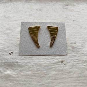 Image of fang earrings