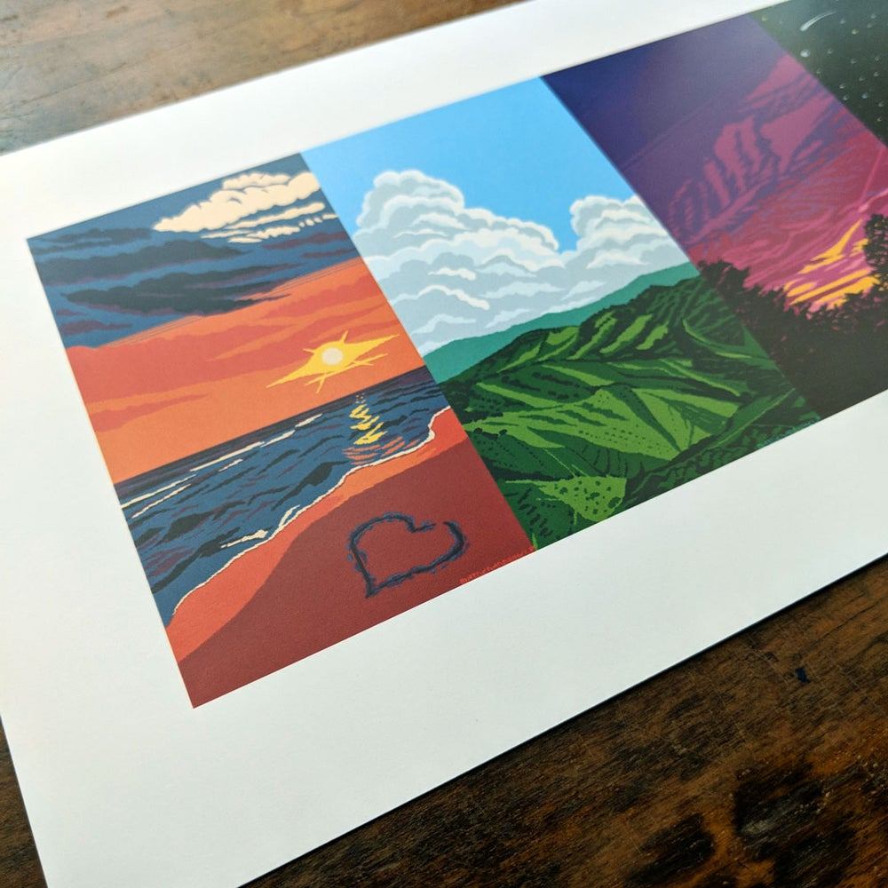 Image of Seasons of the Day Print
