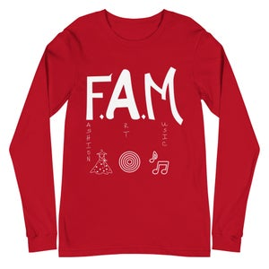 Image of F.A.M. Unisex Long Sleeve Tee