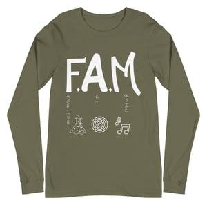 Image of Love My F.A.M. Unisex Long Sleeve Tee