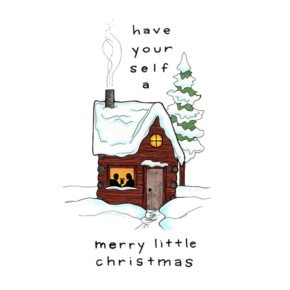 Image of Merry Little Christmas holiday card