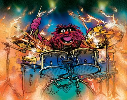 Image of Rock muppet