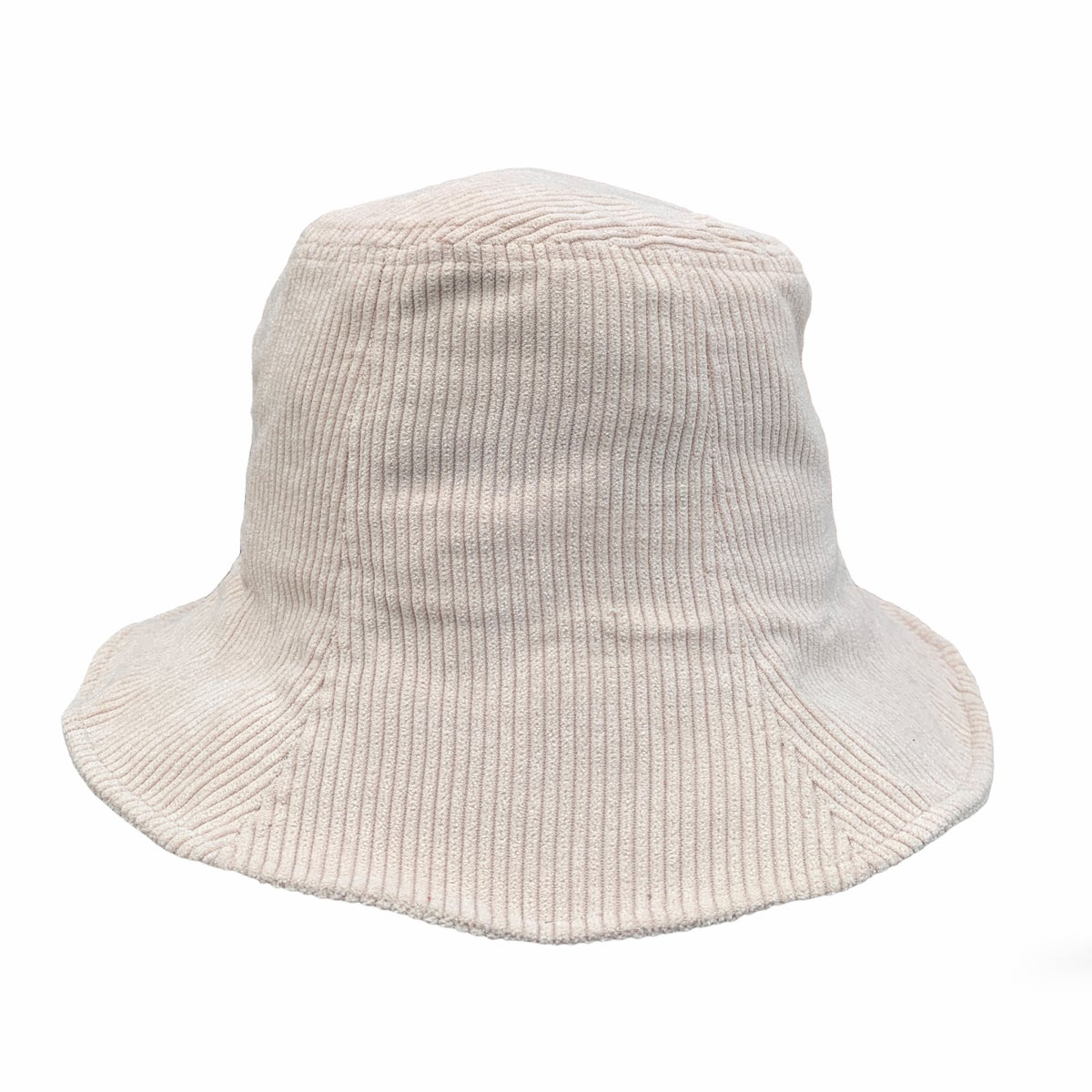 Image of Corduroy Bucket Hat.  Beige.