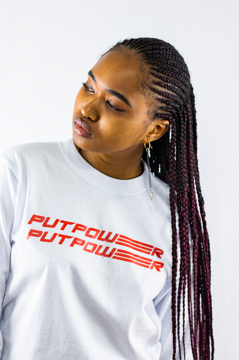 Image of PUTPOWER CWN LONG SLEEVE UNISEX T-SHIRT