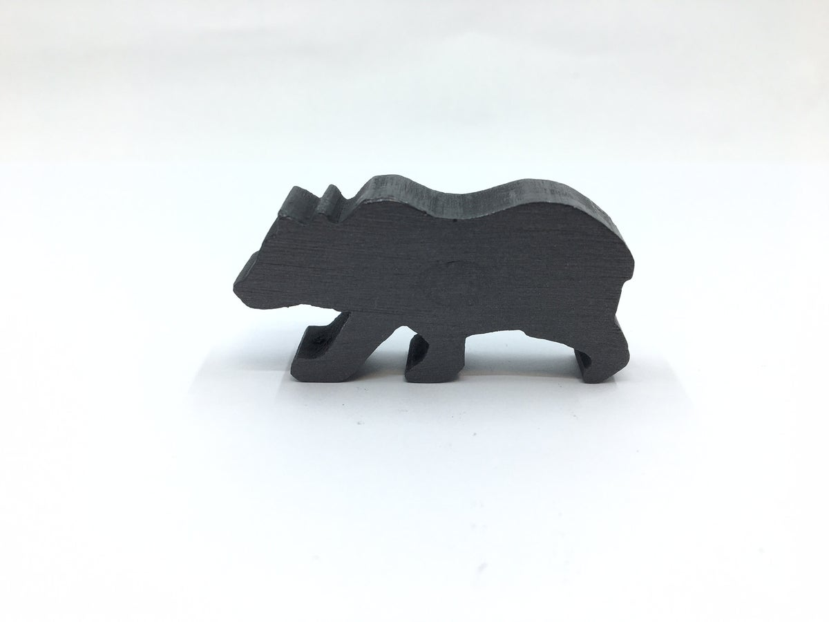 Small Solid Graphite Animals by Agelio Batle