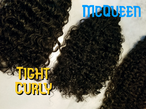 Image of McQueen - Tight curly (Single Sample or Bundle)