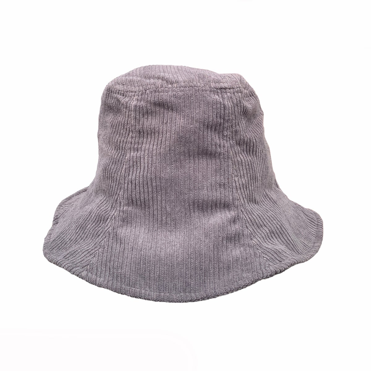 Image of Corduroy Bucket Hat. Grey