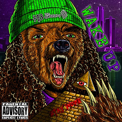 Image of HB The Grizzly - Wake Up (CD)