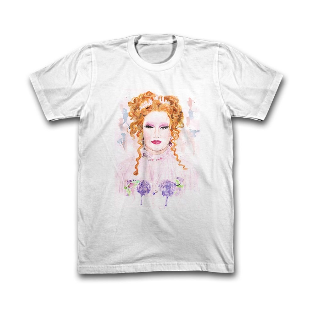 Image of White Watercolor Tee