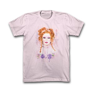Image of Pink Watercolor Tee