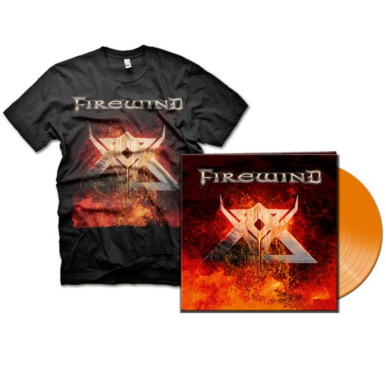 Image of BUNDLE: FIREWIND - SIGNED VINYL + T-shirt
