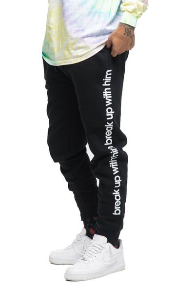 Image of Break Up With Him Joggers