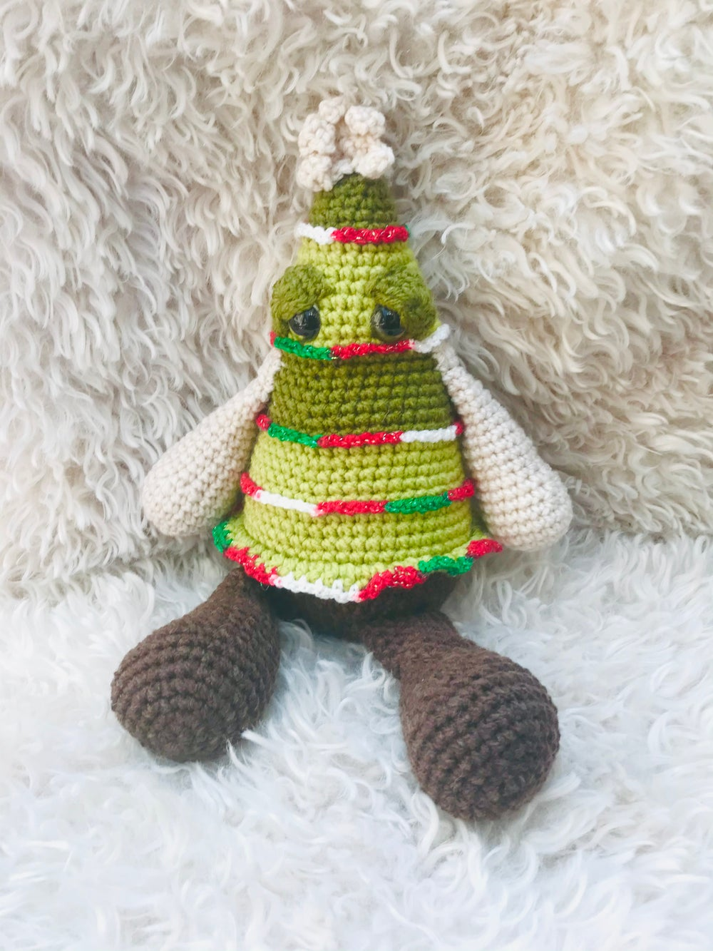 Chrissy the Crocheted Christmas Tree
