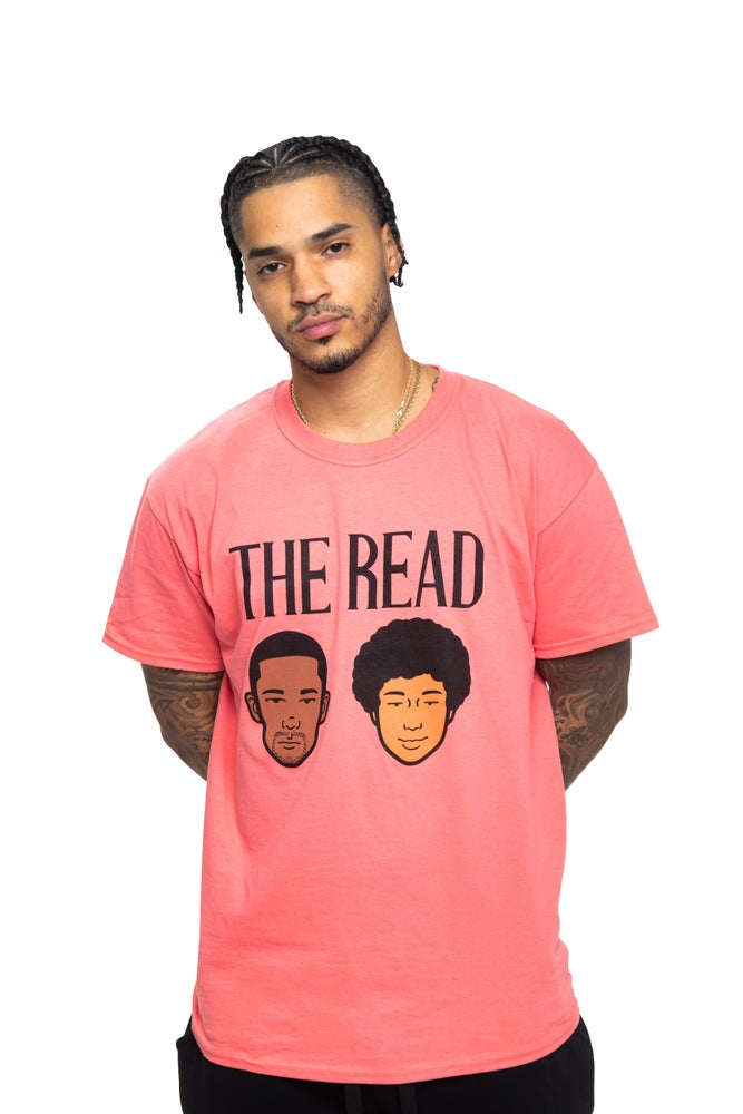 Image of The Read Logo Salmon T-Shirt
