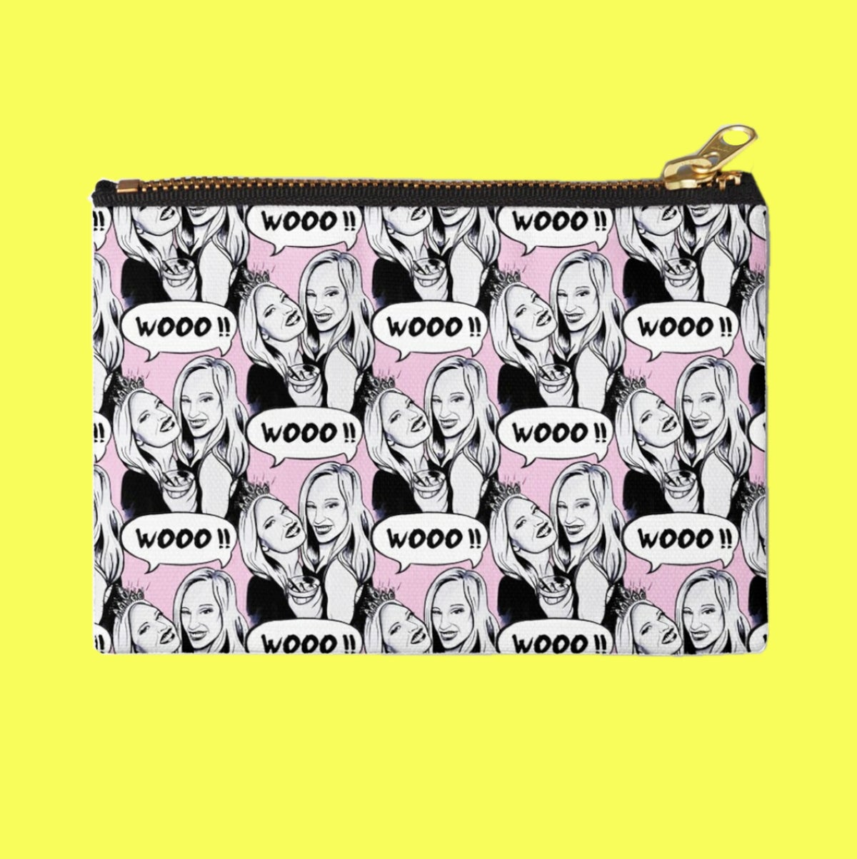 Image of WOO GIRLS ZIPPER POUCH