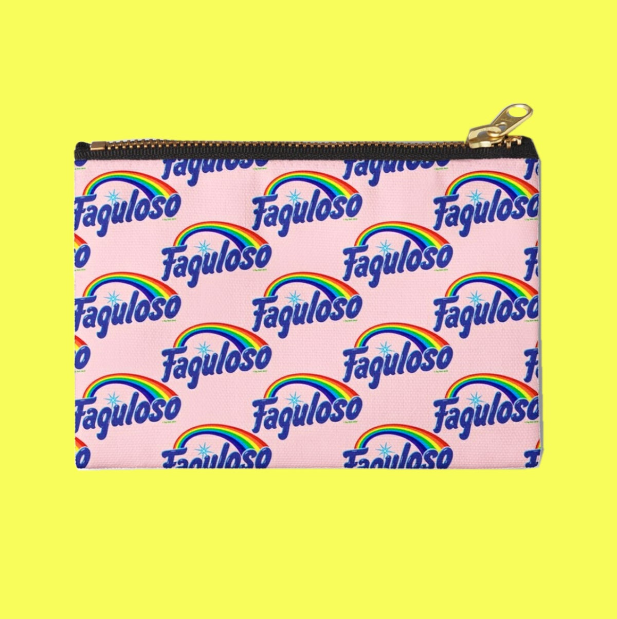 Image of FAGULOSO ZIPPER POUCH