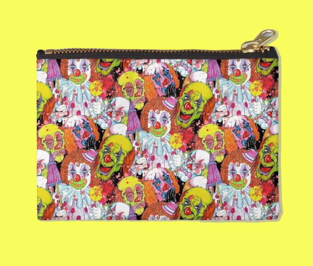 Image of MURDER CLOWN ZIPPER POUCH