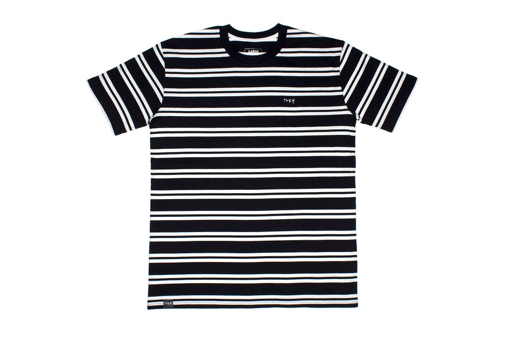 Image of THEM Stripes - Black/White