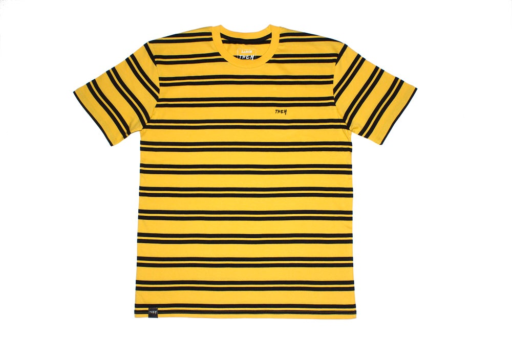 Image of THEM Stripes - Yellow/Black